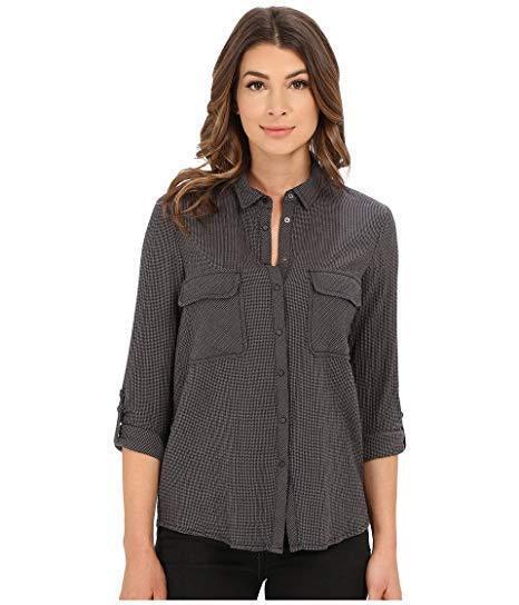 Mavi Jeans Woherren Button Down Shirt with Check Pockets Griffin Check SM