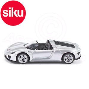 Details About Siku No 1475 Porsche 918 Spyder Convertible Sports Car Dicast Metal Model Car