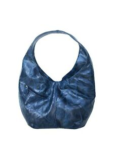 Original Leather Hobo Bag With Pockets