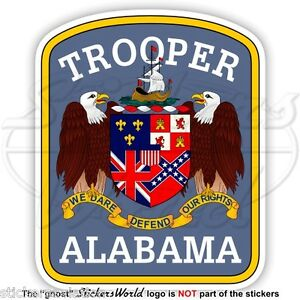 Picture Of New York State Trooper Car (1T20) - 2014 Ford ...   Alabama Highway Patrol Decal