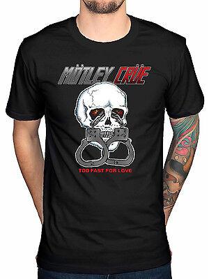 Official Motley Crue Skull Shack T-Shirt All Bad Things Alice Cooper DrFeelgood