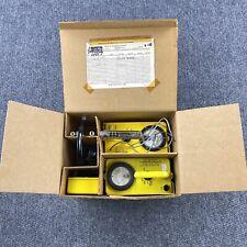 Vintage New Jersey State Police Radiation Detection Geiger Dosimeter Charger
