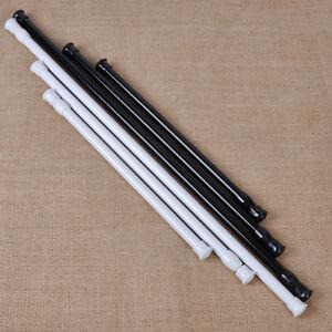 Extendable Adjustable Spring Tension Rod Pole Curtain Shower Bathroom Window Ebay
