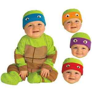 Teenage Mutant Ninja Turtle Costume Baby Toddler Halloween Fancy Dress