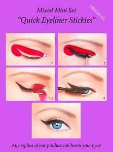 32-pcs-Quick-Eyeliner-Stickies-Stencils-Eye-Makeup-Tool-MIXED-SET-ORIGINAL-UK1