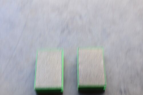 2 pc 3M 60X Grit Green Flexible Diamond Hand Pad