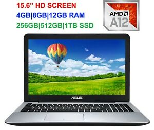 2019-Newest-ASUS-15-6-034-Laptop-AMD-A12-Quad-Core-2-7GHz-up-to-16GB-RAM-amp-1TB-SSD