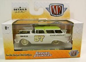 1957 57 CHEVY CHEVROLET SEDAN DELIVERY PAN AM RARE 1//64 SCALE DIECAST MODEL CAR