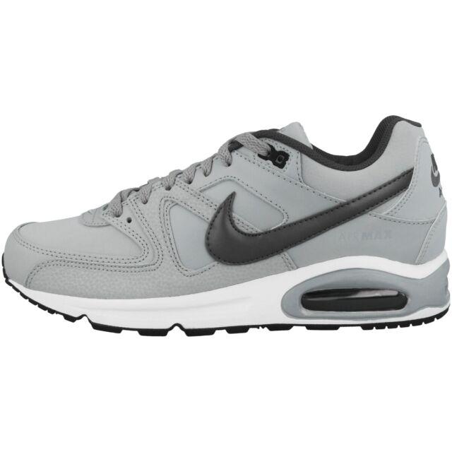 Nike Air Max Command Leder Sneakers Grau, Größe 40.5