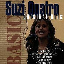 Basic-Original-Hits-von-Suzi-Quatro-CD-Zustand-sehr-gut
