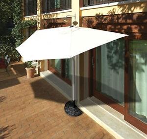 Imperdibile ombrellone a parete mezza luna copertura terrazzo ...