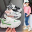 Neu Jungen Mädchen Sneakers Kinder Turnschuhe Atmungsaktiv Mesh Sportschuhe
