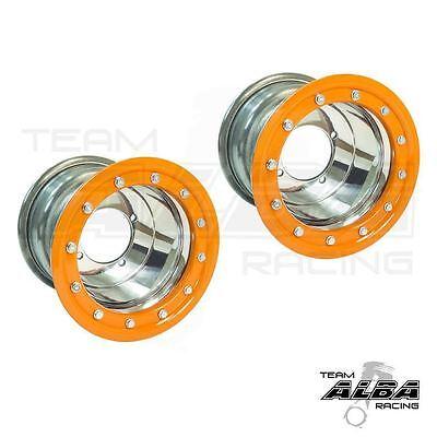Suzuki LTZ 400 LTR 450  Rear Wheels  Beadlock  8x8  3+5  4//110  Alba Racing  BB