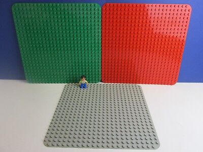 Lego Base Plate Building Board 24 x 32 Studs Red from Set 358 10p03 Genuine