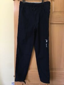 NWT Gymboree Boys Pull on Pants Jogger Green Jersey lined Shipmates 10,12
