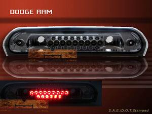 02 03 04 05 06 07 08 DODGE RAM LED 3RD THIRD BRAKE LIGHT SMOKE G2