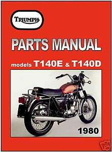 t140 parts manual