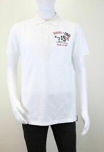 Diesel-CL-Clap-camicia-Hommes-T-Shirt-Manches-Courtes-Poloshirt-Loisir-Taille-XL