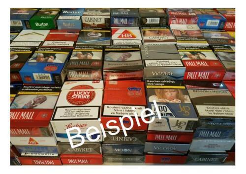 200 400 leere Zigarettenschachteln für Schachtelkranz 300 25.GB 100 50