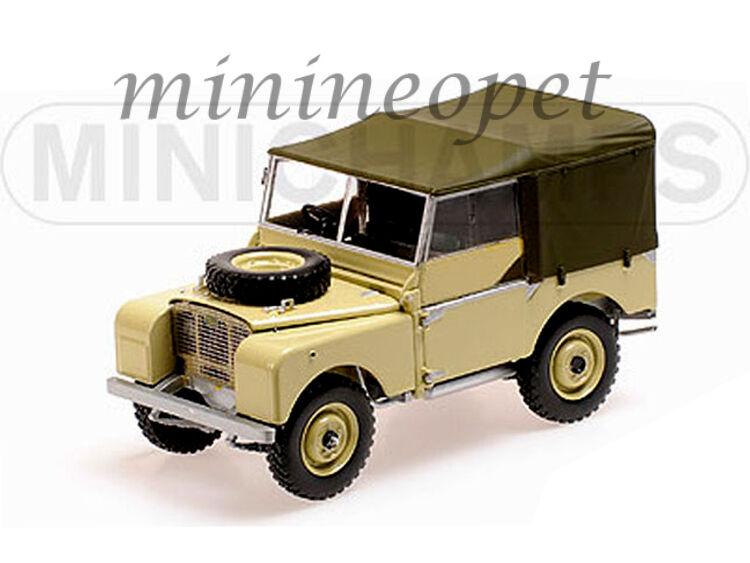 MINICHAMPS 150-168905 1948 48 LAND ROVER 1 18 DIECAST MODEL CAR BEIGE