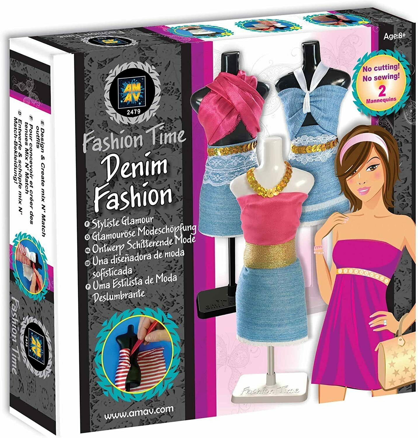 Amav Fashion Time Bridal Fashion Designer Craft Kit For Sale Online Ebay
