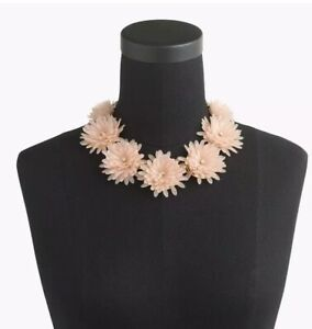 J-Crew-Blossom-Necklace-In-Faded-Teak-New-With-Tags-amp-Bag-RP-98-00
