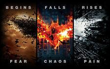 """The Dark Knight Rises Batman Movie Poster 24"""" x 38"""" Wall Poster l20"""