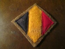 WWI US Army patch 326th Battalion Tank Corps Patch AEF