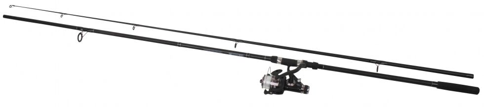 BRAND NEW  2 x Master 12ft Carp rod & Freespool reel combo