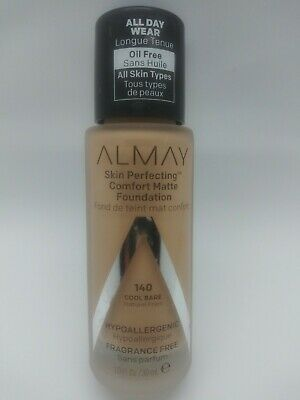 Almay Skin Perfecting Comfort Matte Foundation Cool Bisque