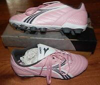 Diadora Veneto Jrs Soccer Cleats In Box Pink White Gray