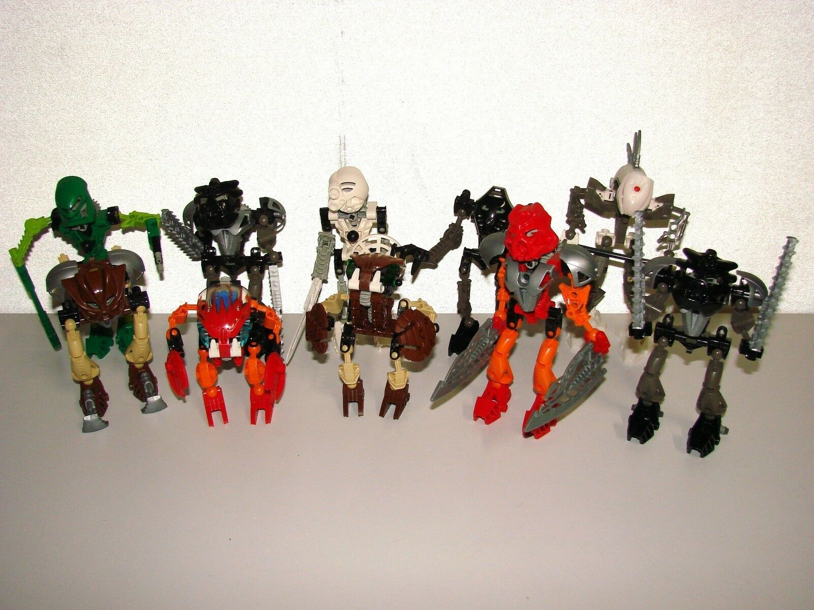 SET OF LEGO BIONICLE REF 8532 8535 8536 8560 8563 8566 x 2 8568 8572 8588 no.11
