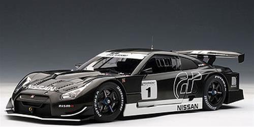 1:18 Autoart Nissan Gt-R GT500 Stealth Model (Gran Turismo GT5) 2010