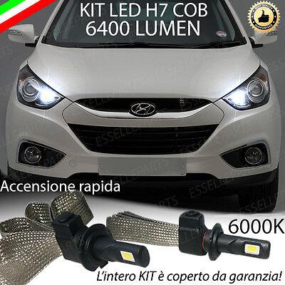 KIT LAMPADE ABBAGLIANTI LED HYUNDAI TUCSON LED H7 6000K 9600 LUMEN