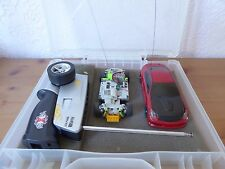 Xmods modified red G35 with Lipo spare stock chassis lots of spare parts RC