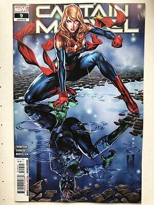 CAPTAIN MARVEL #9 Main Cover First Print Free Shipping! 2019