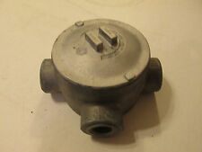 "Crouse Hinds GUAT-59 GUJT-59 Explosion Proof Conduit Outlet Body 1 1/2"" 3 Hub"