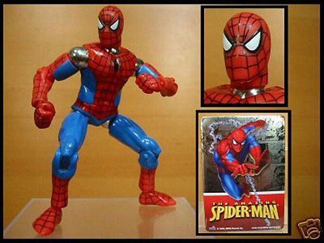 Mega - bloks magnetische spiderman - actionfigur mib selten