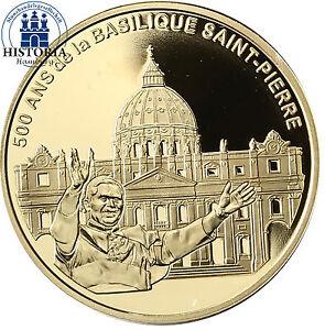 Frankreich 10 Euro 2006 Petersdom in Rom Goldmünze