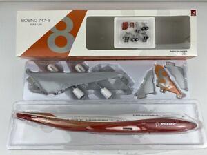 Hogan Wings 1/200 Boeing 747-8 Rollout,Sunrise Painting,Desktop Model HG10864