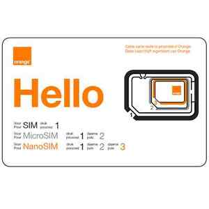 Carte Sim.Details About Carte Sim Prepayee Orange Be Nouveau Numero 15 De Credit D Appel Inclus