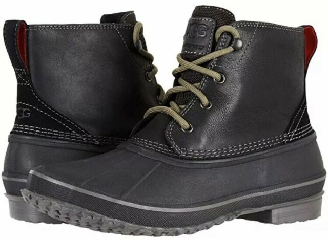 Zetik Waterproof Leather Duck Boot