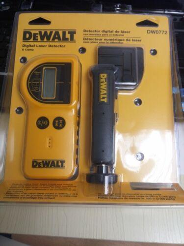 100/% NEW DEWALT US version DIGITAL LASER DETECTOR WITH CLAMP DW0772