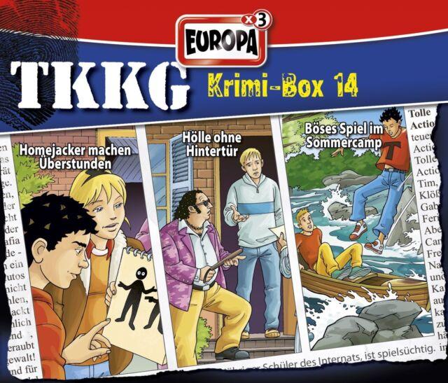 TKKG - Krimi-Box 14 (Folge 132, 147, 159) (3 CDs)