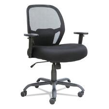 Alera Merix Series Mesh Bigtall Mid Back Swiveltilt Chair Black Mx4517 New