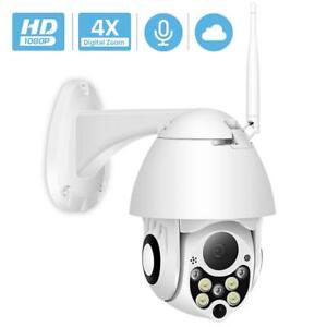 1080P-2MP-Wireless-IP-Camera-Wifi-Speed-Dome-PTZ-Outdoor-IP66-Onvif-CCTV-Camera