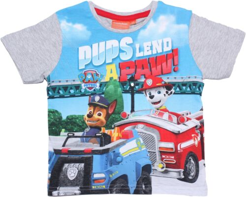 Paw Patrol Boys Great Patroller Short Sleeve T Shirt
