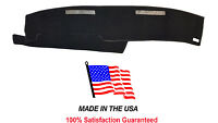 1986-1993 Chevy Blazer Mini S-10 Black Carpet Dash Cover Mat Pad Ch57-5 Usa Made