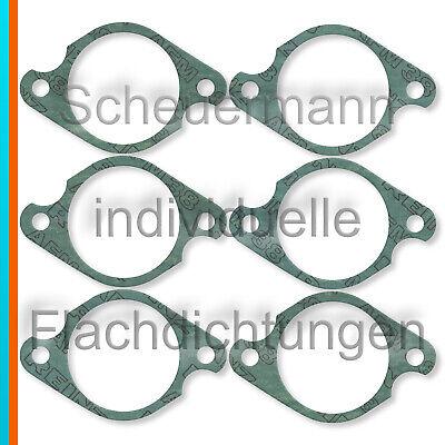 6x Dichtung Ansaugkrümmer-Zylinderkopf passend für Porsche 911 mit MFI 36mm