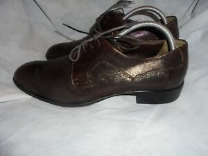 Austin Reed Men S Brown Leather Lace Up Shoes Size Uk 8 5 Eu 42 5 Vgc Ebay